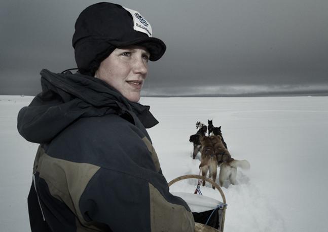 Huskytocht met Noorse husky's als sledehonden Hallingdal in Noorwegen