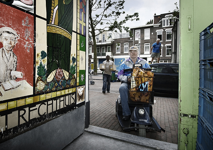 De voedselbank in Rotterdam