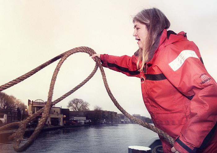 Met binnenvaartschippers de Nederlandse rivieren over