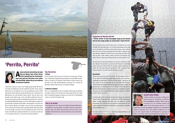 Proef Spanje blogprijs 2013