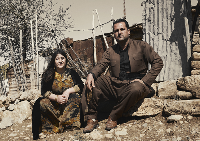 De vader van James Dean Koeridstan Irak |Nomad&Villager