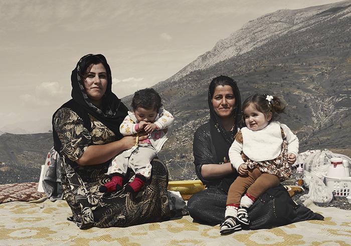 Familie picknick Newroz Choman omgeving |Nomad&Villager