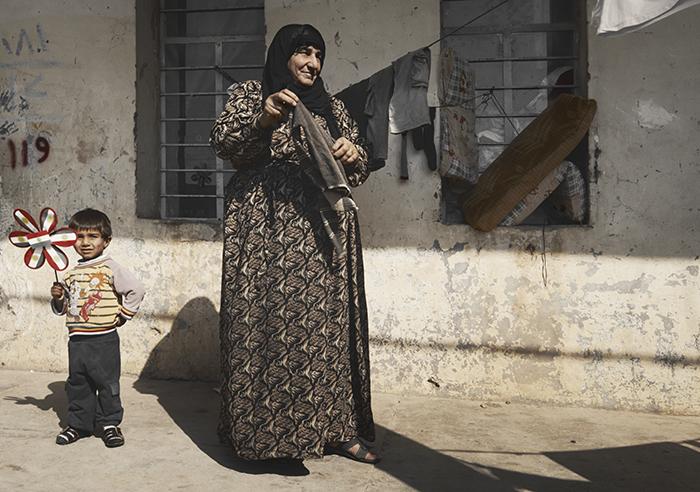Wassen in vluchtelingenkamp Akre Koerdistan |Nomad& Villager