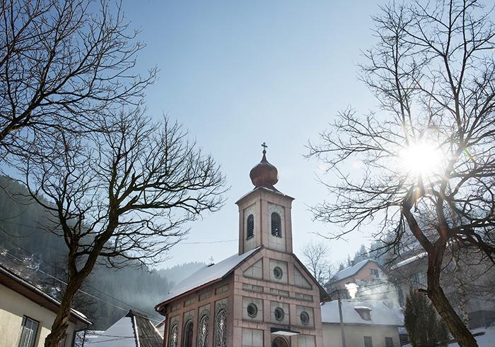 Vareš, tips orthodoxe kerk Nomad&Villager