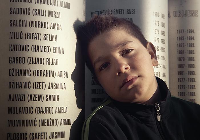 Monument voor de kinderen van Sarajevo