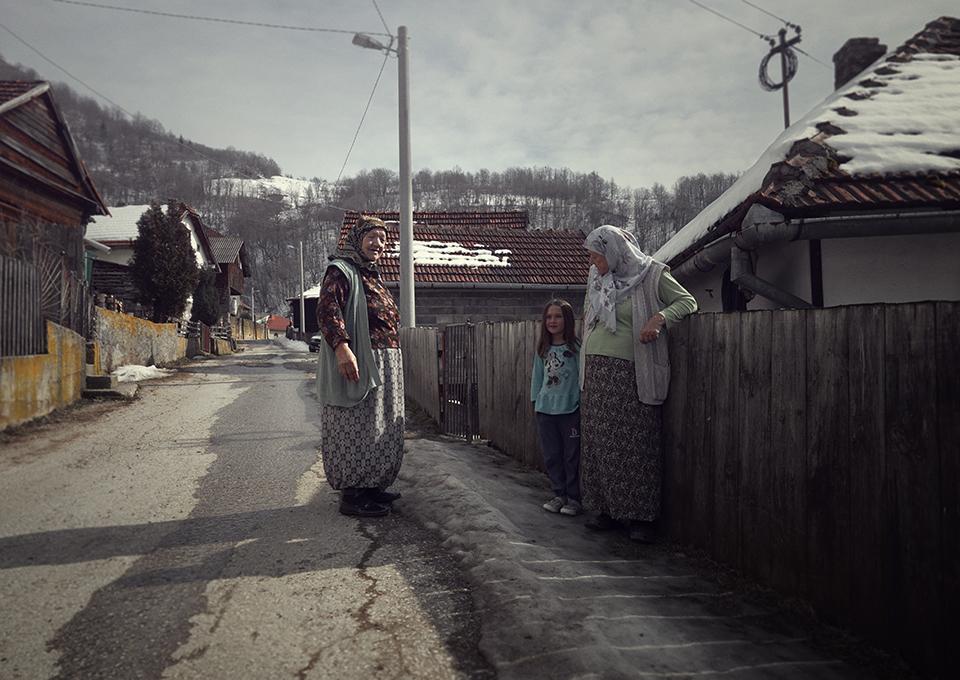 De dames in Bosnië   The ladies in Bosnia
