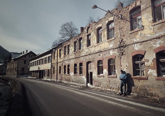 Bosnie fabrieksterrein