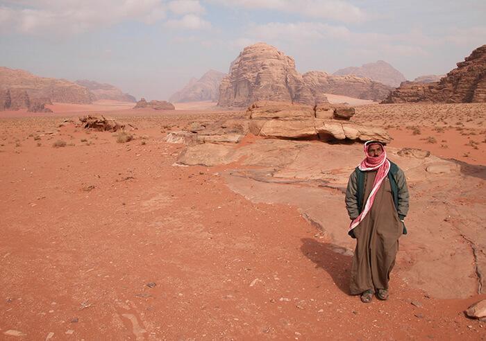 Wadi Rum Jordanië Laurence of Arabia