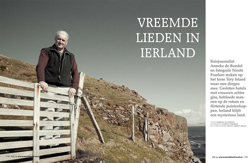 publicatie vreemde lieden in Ierland   strange people in Ireland