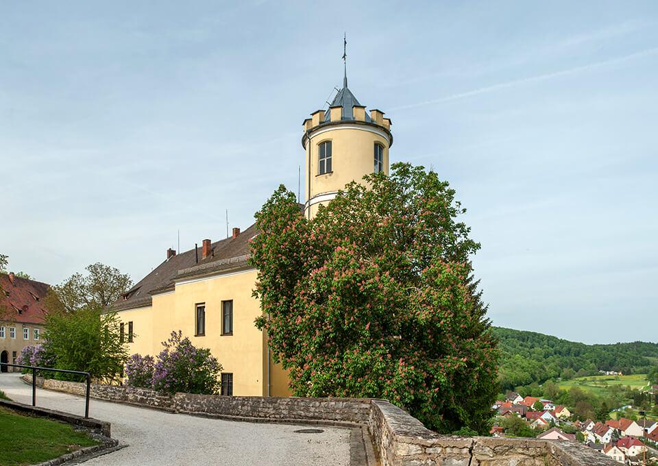 Schloss Möhren in Beieren, kasteel van de Pappenheimers