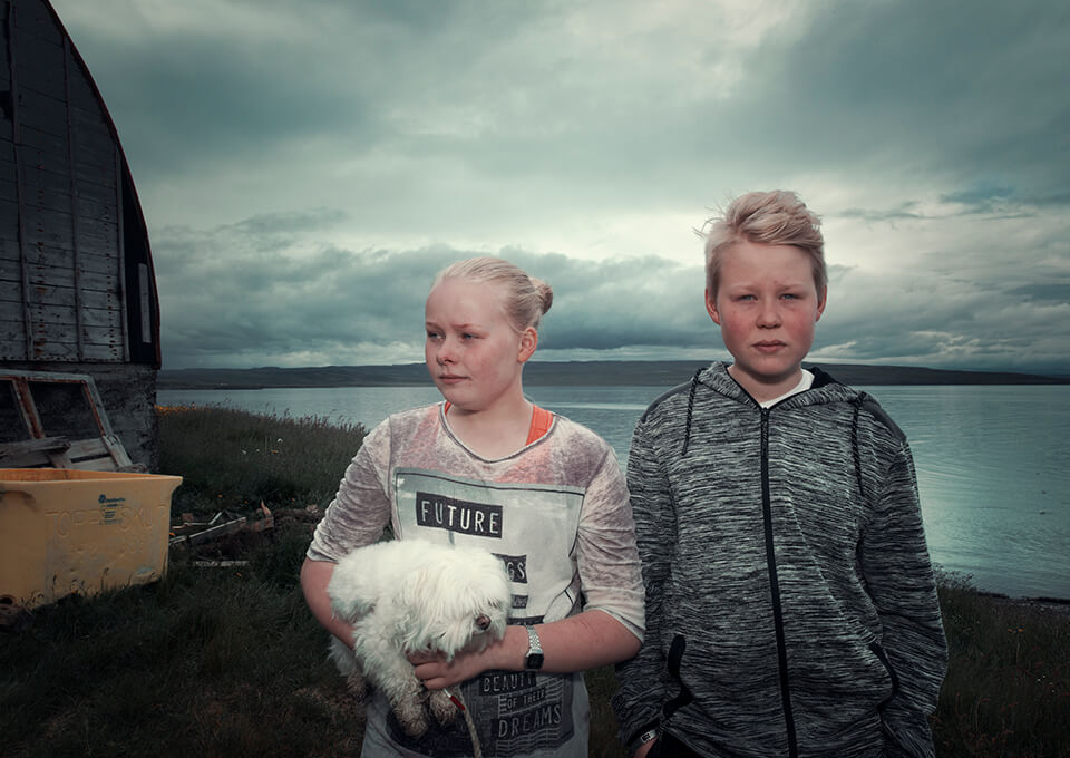 Himri en Þórey , in Bakkafjörður Noordoost IJsland
