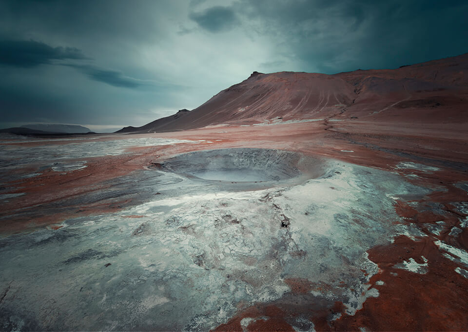 Namafjall Hverir IJsland