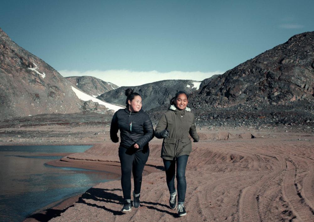 jonge meiden Groenland