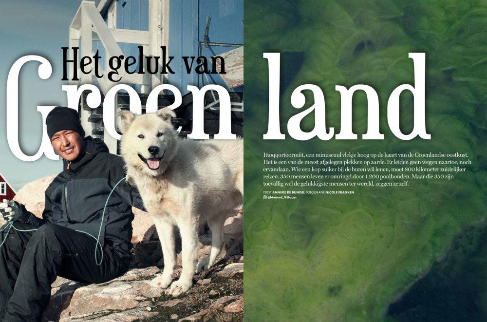 Publicatie het Geluk van Groenland
