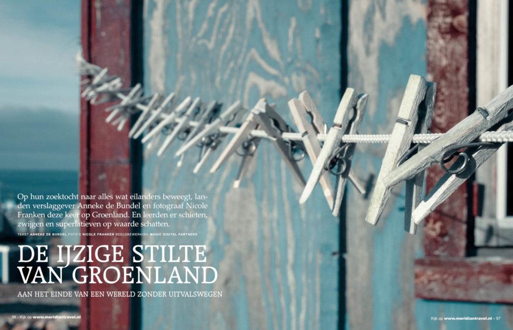 Publicatie de ijzige stilte van Groenland