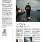 Boekenkrant recensie Eiland blues van Anneke de Bundel