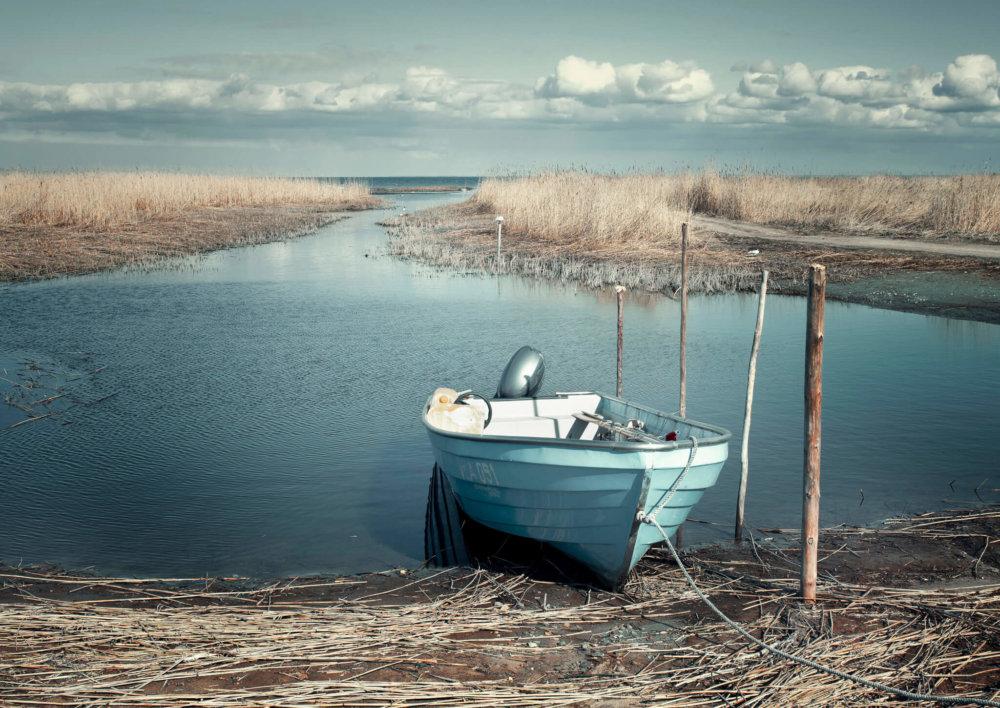 Vissershaven Kihnu, Estland